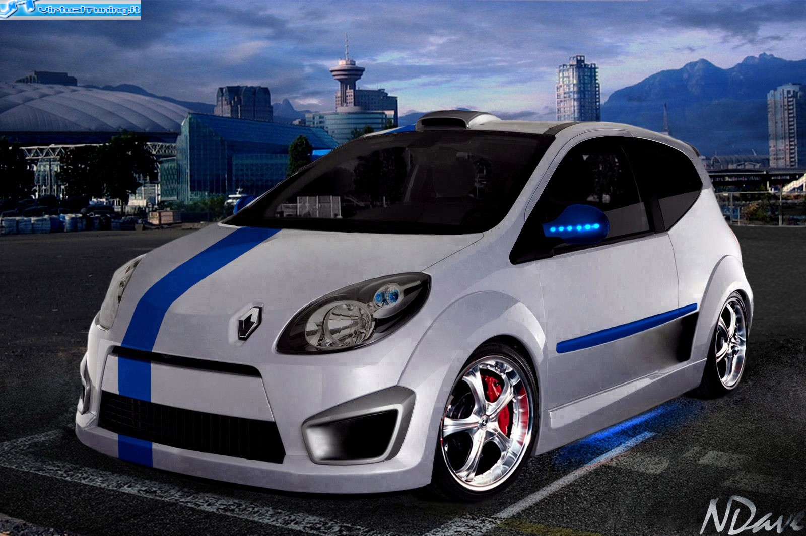 renault twingo rs by ndave virtualtuning it. Black Bedroom Furniture Sets. Home Design Ideas