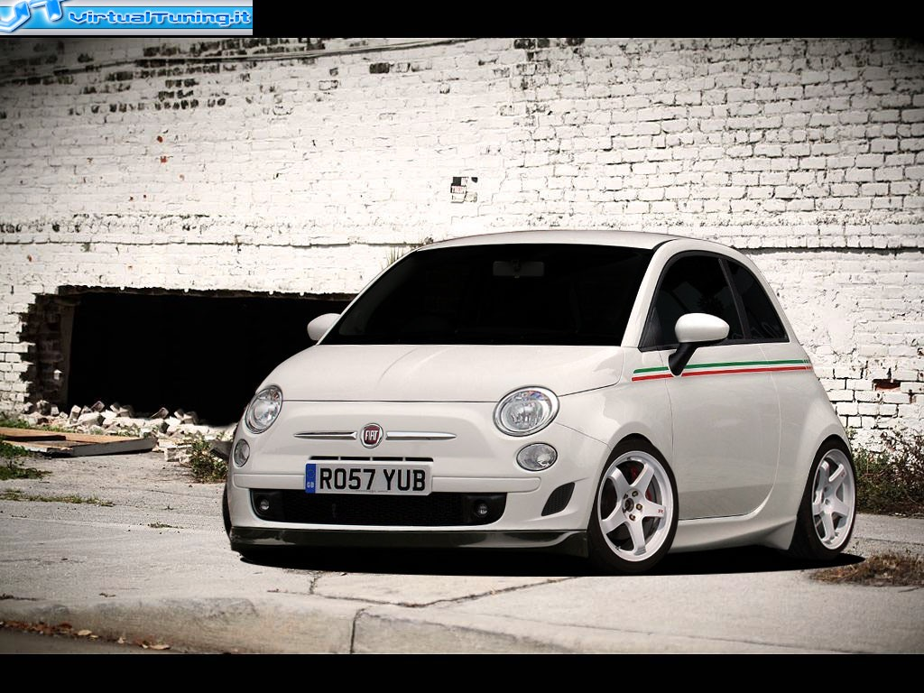 VirtualTuning FIAT 500 by