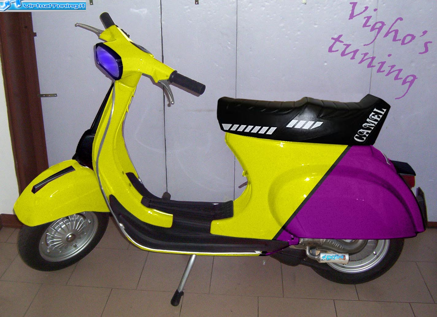 piaggio vespa 50 special by vigho virtualtuning it. Black Bedroom Furniture Sets. Home Design Ideas