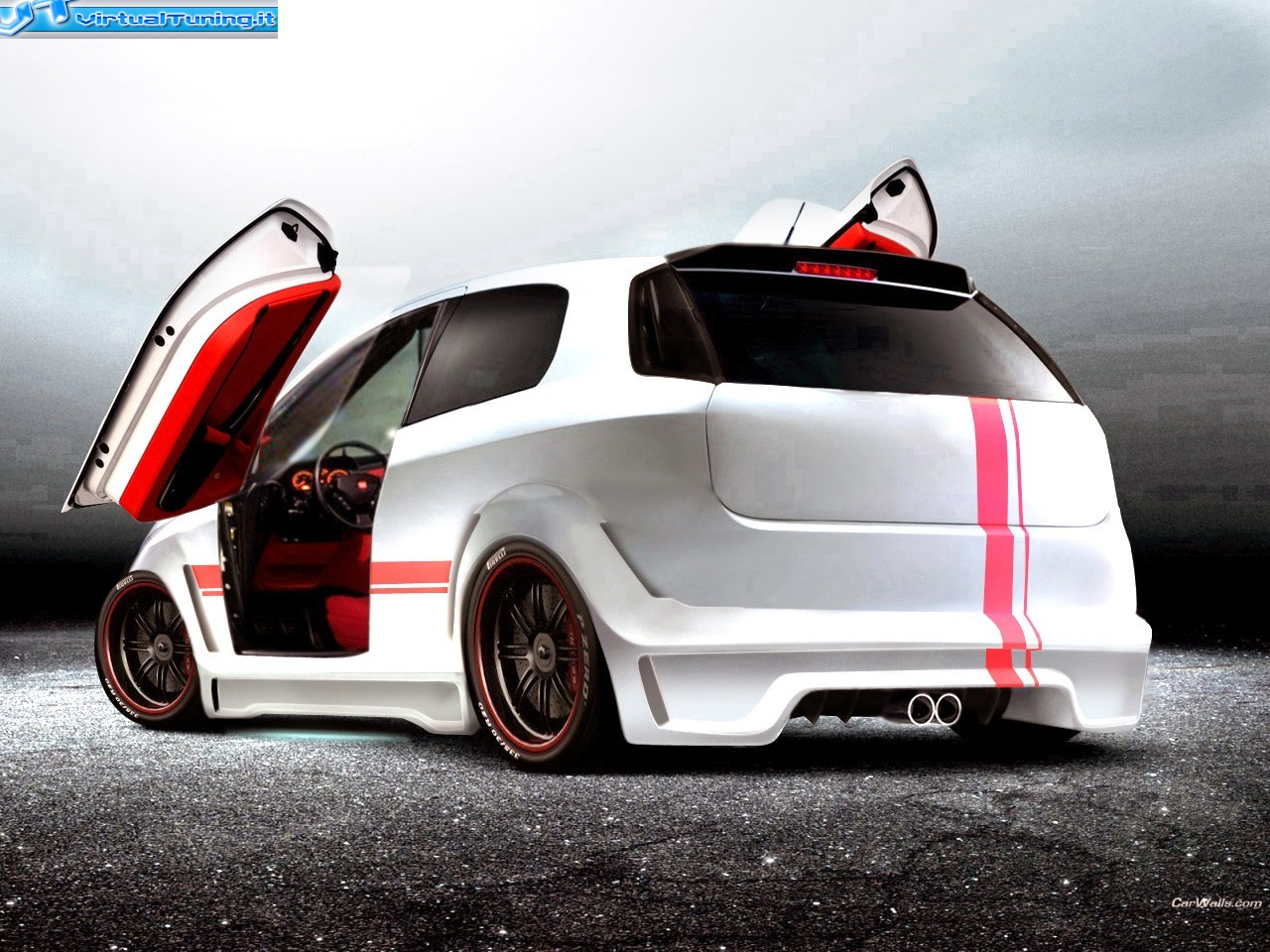 fiat grande punto abarth by elboca virtualtuning it. Black Bedroom Furniture Sets. Home Design Ideas