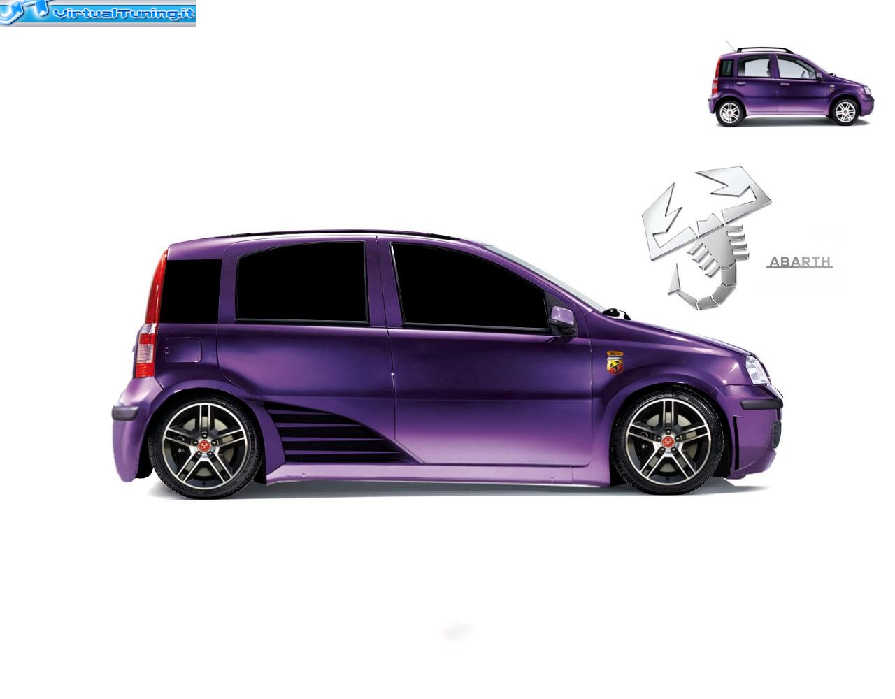 fiat panda abarth by saichisono virtualtuning it. Black Bedroom Furniture Sets. Home Design Ideas