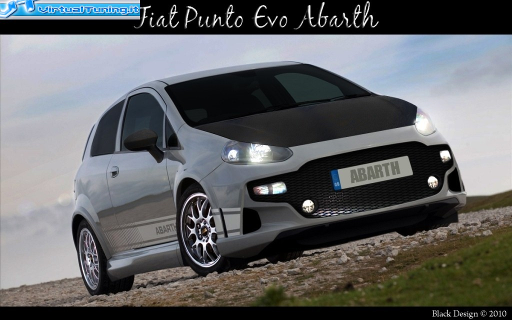 fiat punto evo abarth by peppecanzano virtualtuning. Black Bedroom Furniture Sets. Home Design Ideas