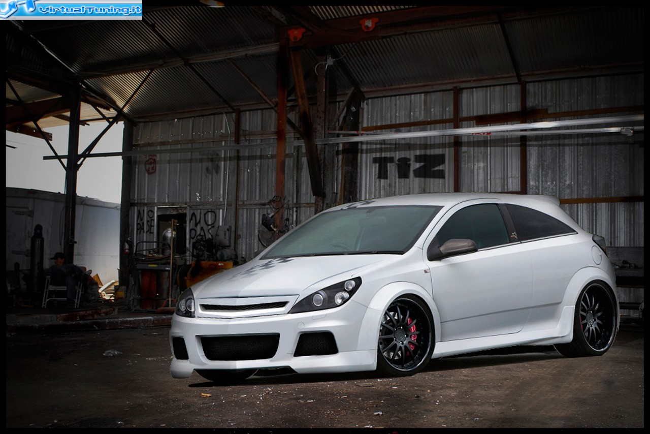VirtualTuning OPEL astra by