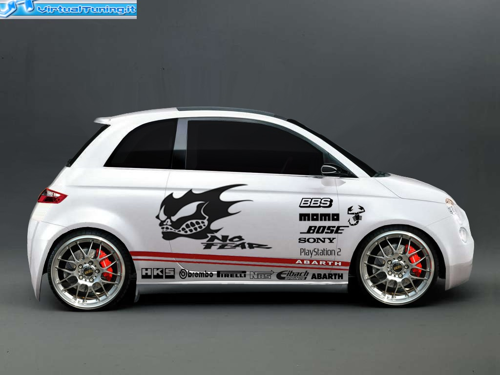 fiat 500 by manuel virtualtuner virtualtuning it. Black Bedroom Furniture Sets. Home Design Ideas