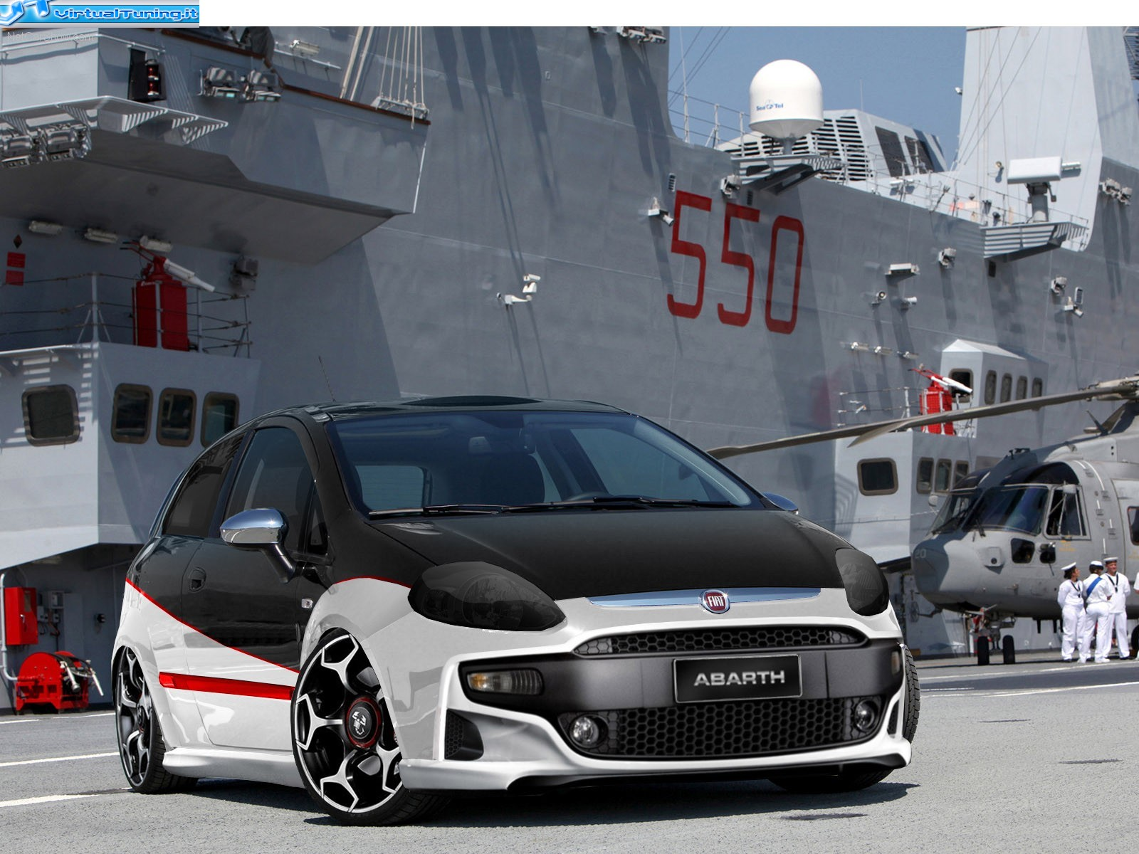 fiat punto evo by abarth design virtualtuning it. Black Bedroom Furniture Sets. Home Design Ideas
