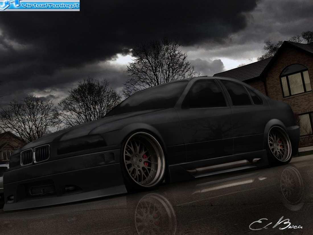 VirtualTuning BMW serie 3 by elboca