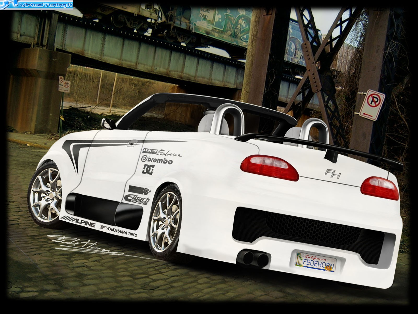 VirtualTuning MG TF by fedehorn