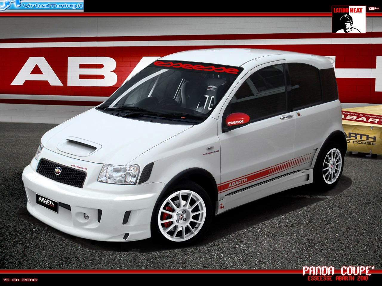 Fiat Panda 100hp By Latino Heat Virtualtuning It