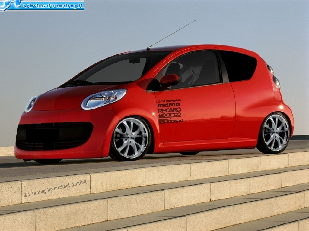 citroen c1 by michael tuning virtualtuning it. Black Bedroom Furniture Sets. Home Design Ideas