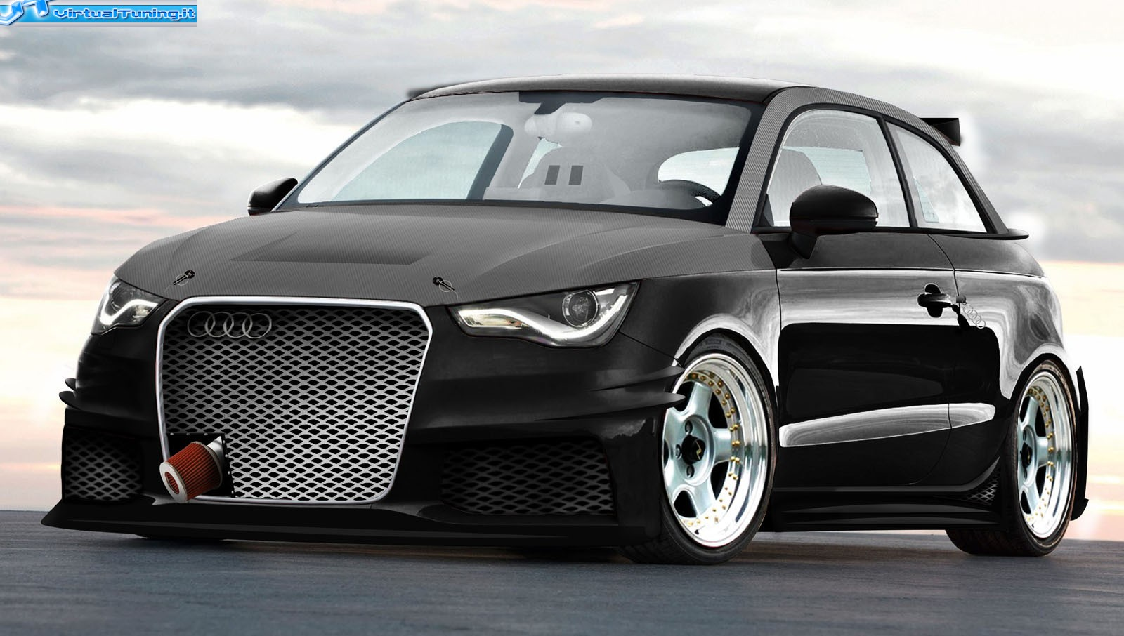 audi a1 by chilla virtualtuning it. Black Bedroom Furniture Sets. Home Design Ideas