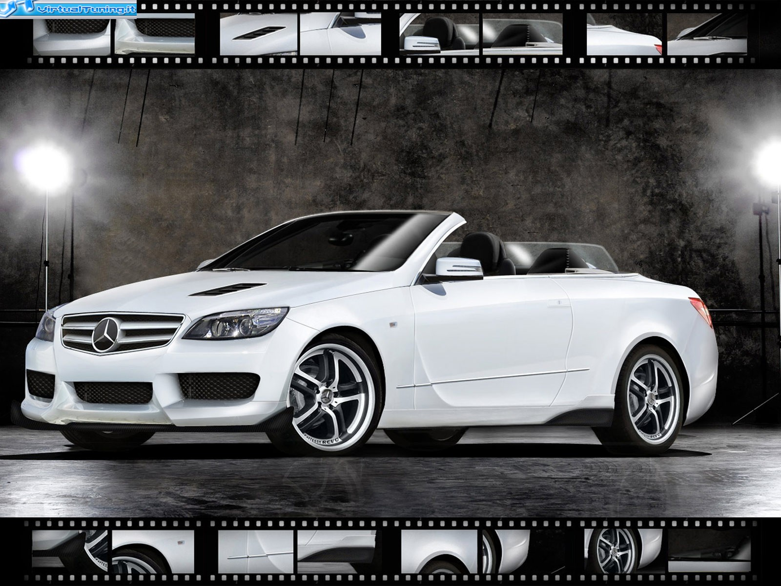 VirtualTuning MERCEDES E550 by