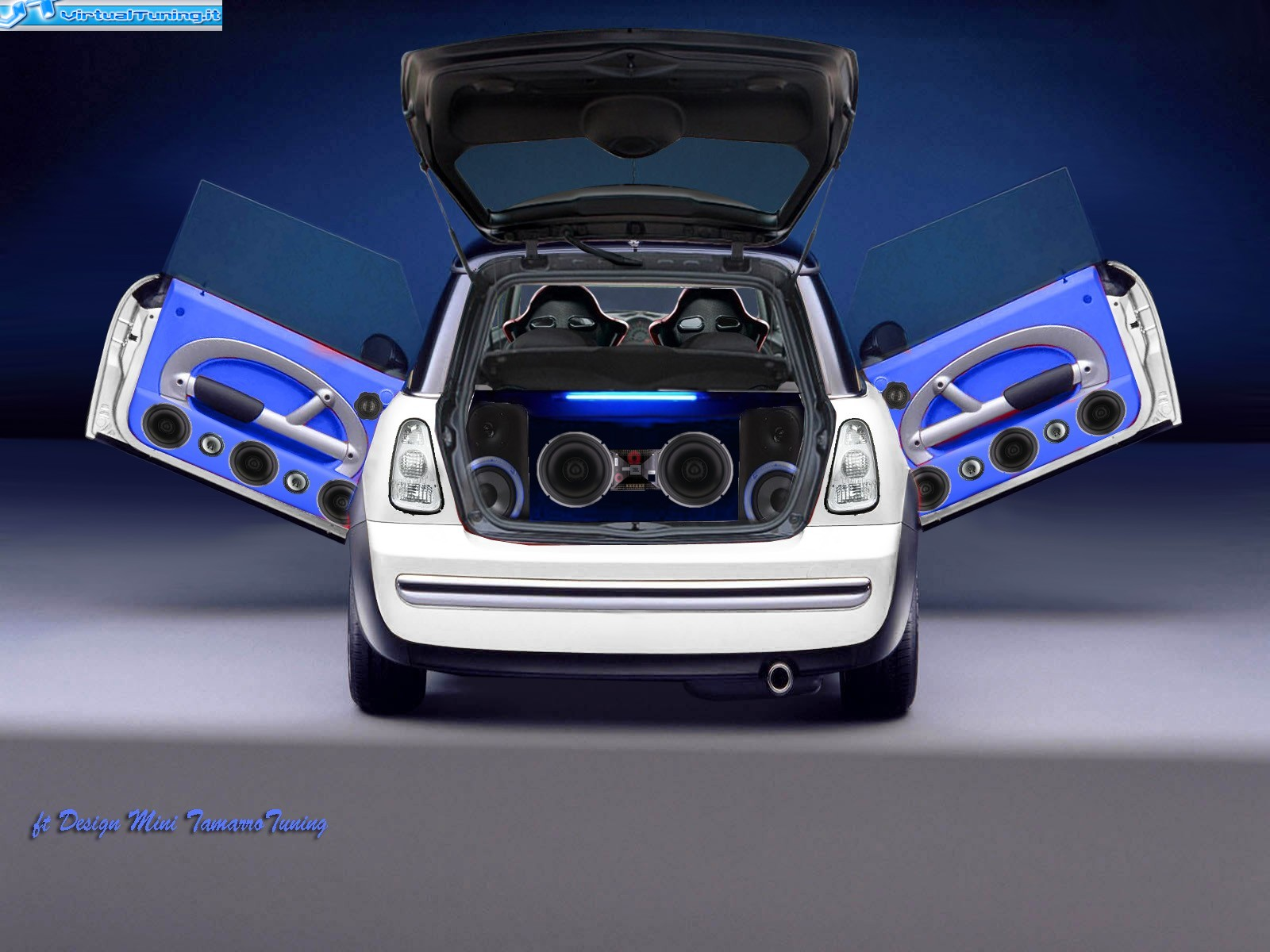 Mini Cooper Tamarro Tuning By Ft Design Virtualtuning