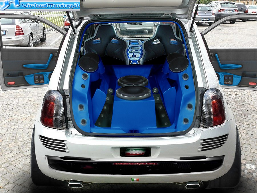 VirtualTuning FIAT 500 by Horsepower