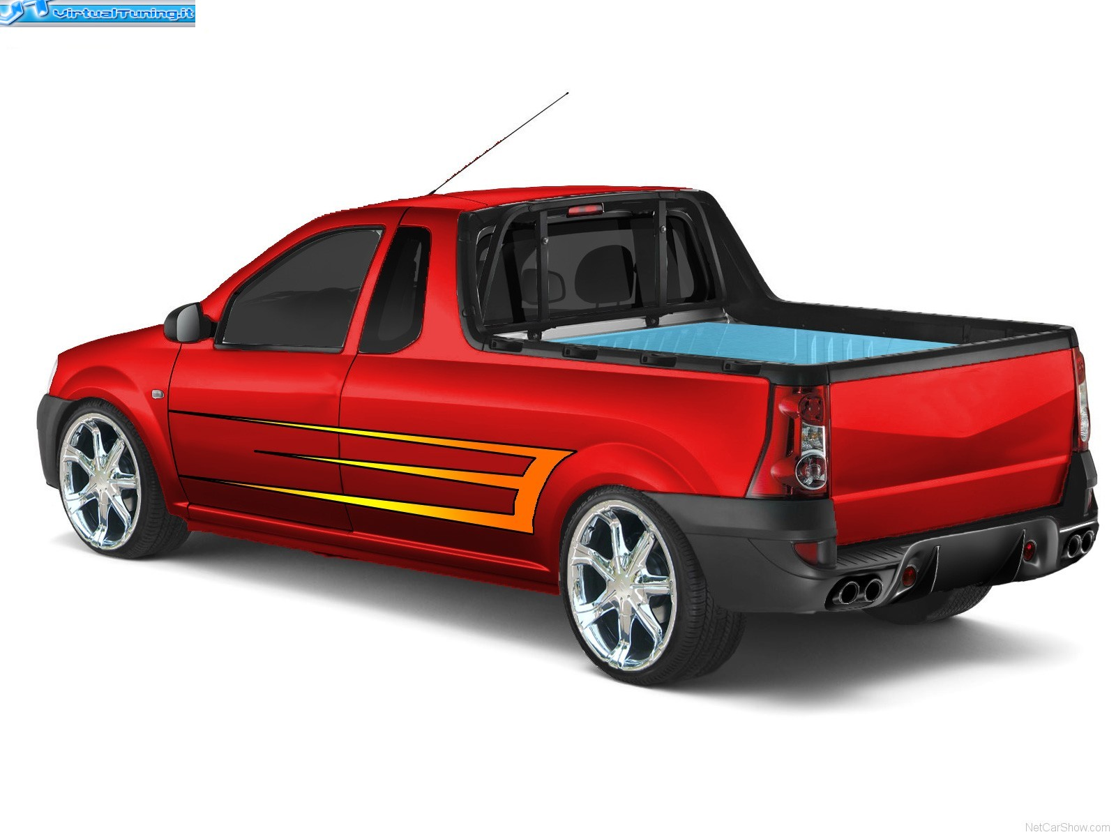 dacia logan pick up by mastropack virtualtuning it. Black Bedroom Furniture Sets. Home Design Ideas