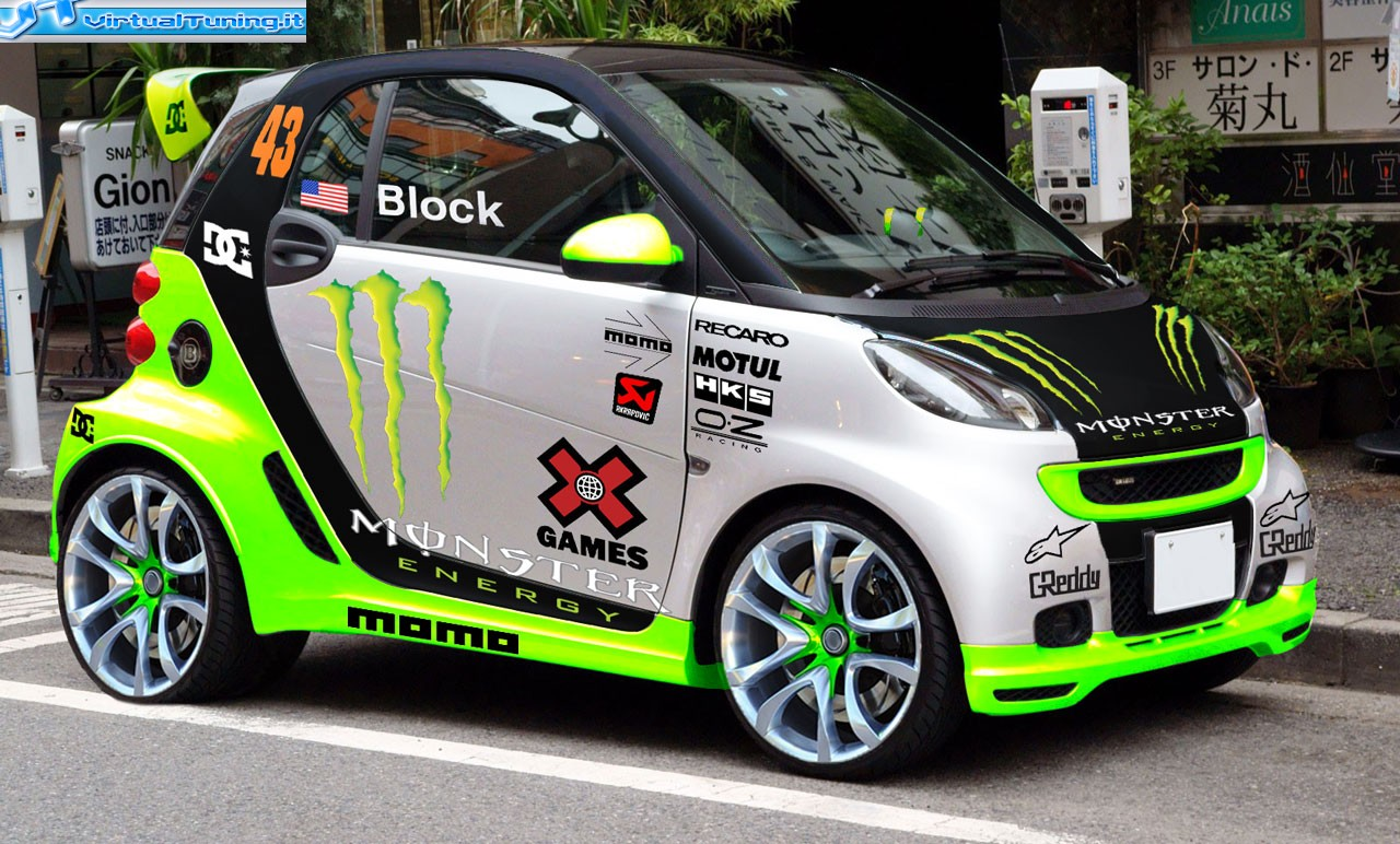 Smart Fortwo By Mastropack Virtualtuning It