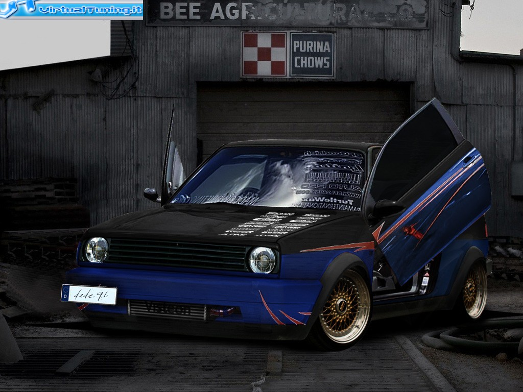 VirtualTuning VOLKSWAGEN golf II by dade.91