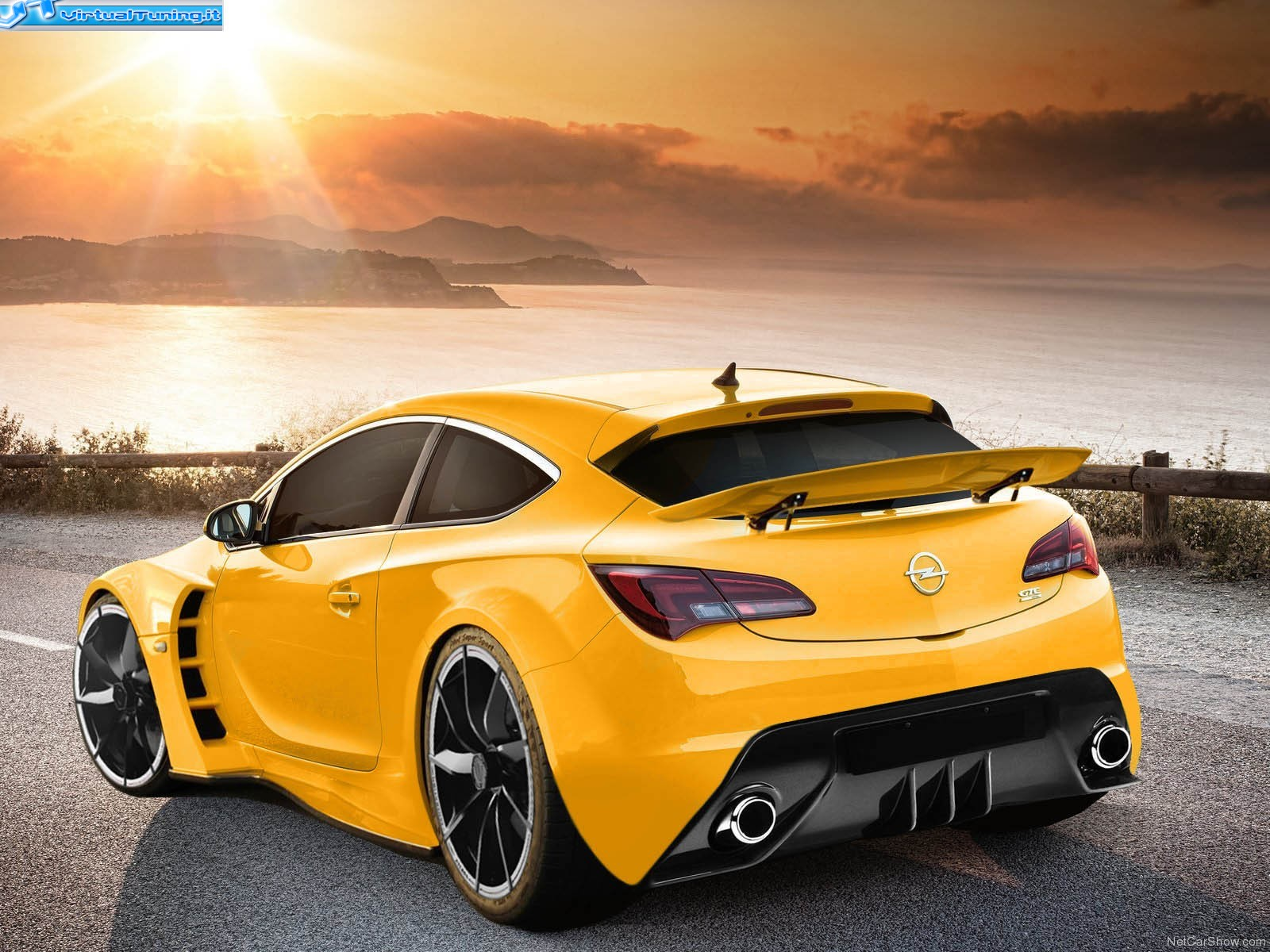 opel astra gtc by dm by design virtualtuning it. Black Bedroom Furniture Sets. Home Design Ideas