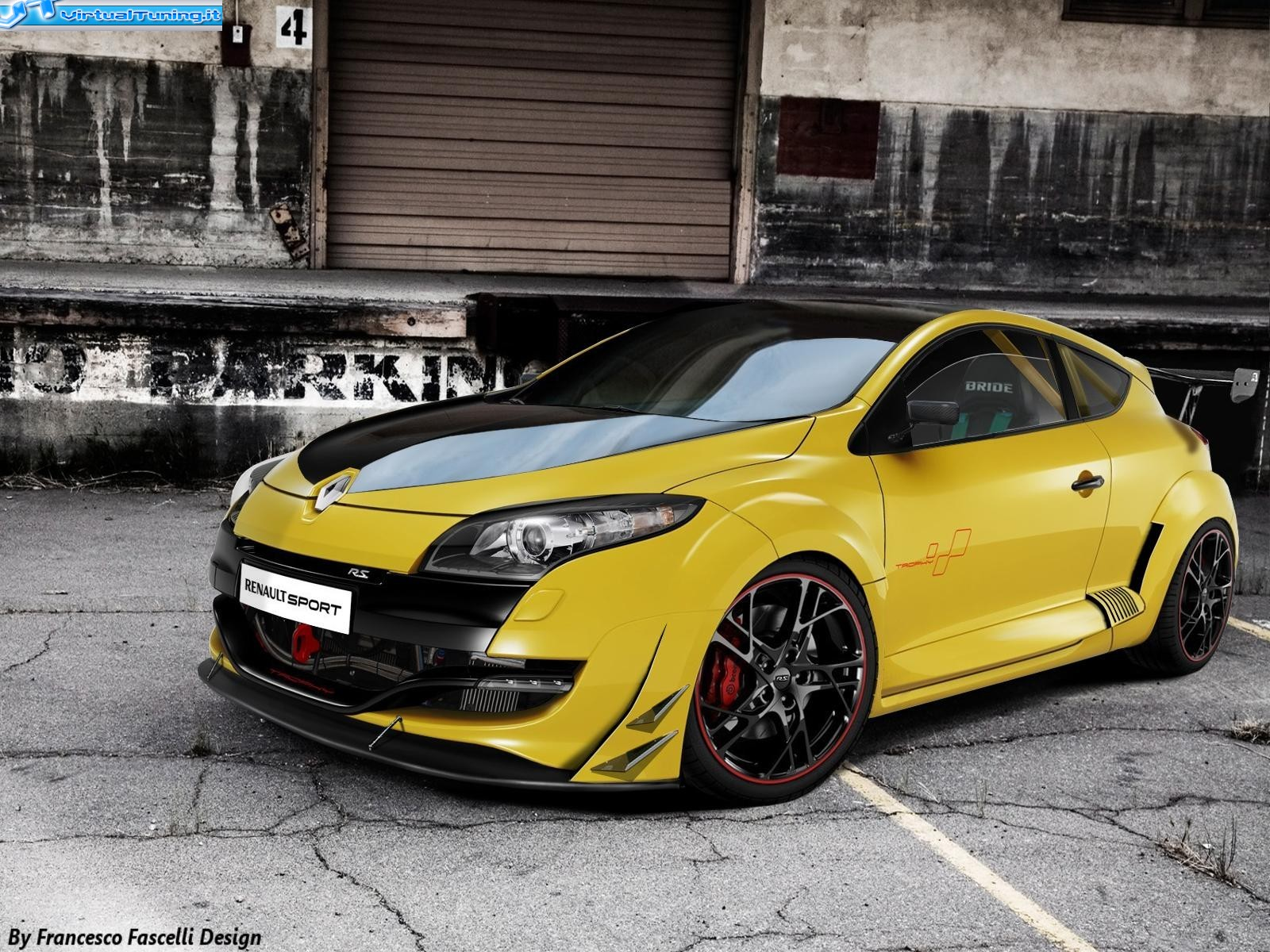 renault megane rs by francescof91 virtualtuning it. Black Bedroom Furniture Sets. Home Design Ideas