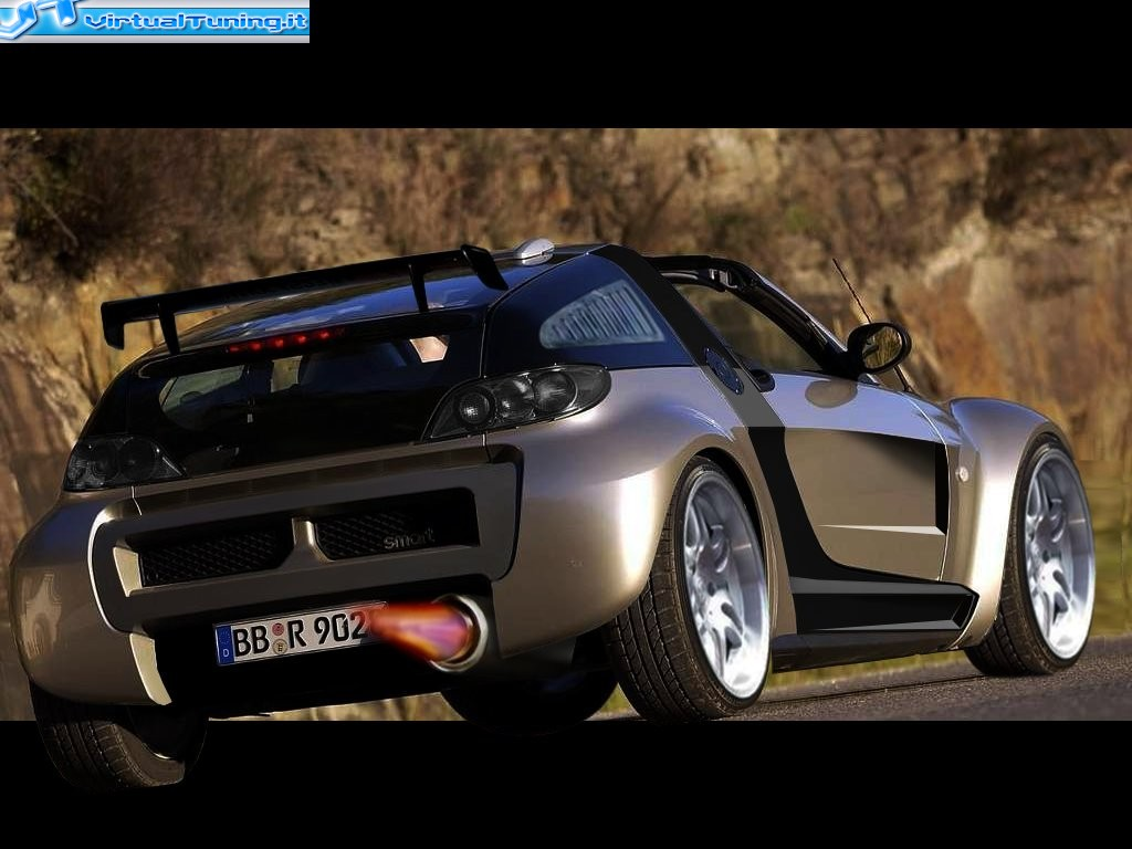 smart roadster coupe by shadows virtualtuning it. Black Bedroom Furniture Sets. Home Design Ideas