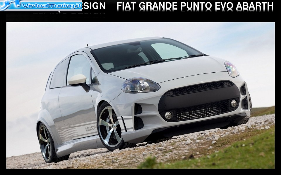 fiat grande punto evo abarth by lupinjo. Black Bedroom Furniture Sets. Home Design Ideas