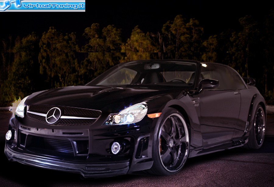 VirtualTuning MERCEDES SLS AMG by