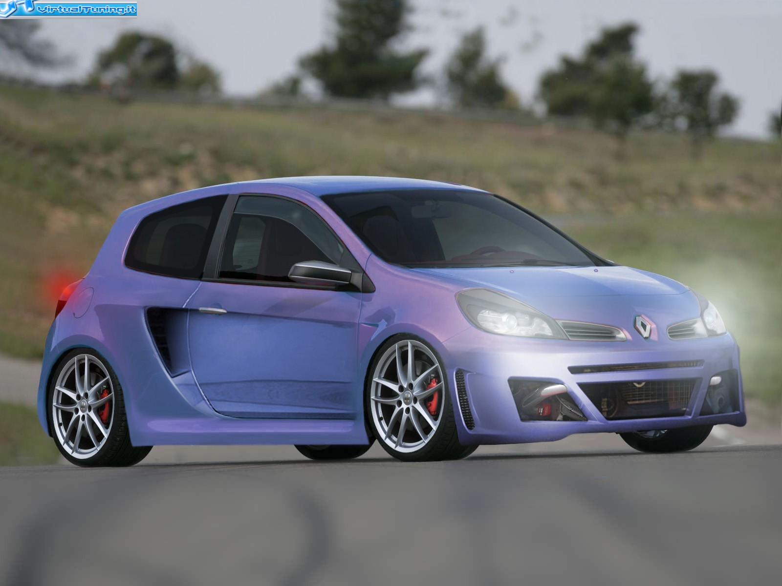 renault clio rs by amodio tuning virtualtuning it. Black Bedroom Furniture Sets. Home Design Ideas