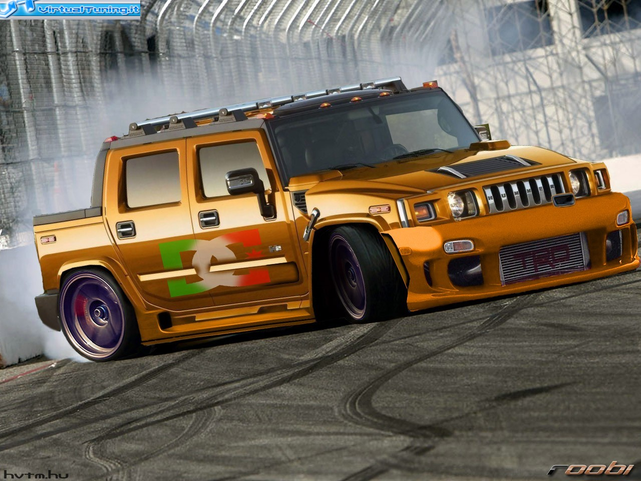 Hummer H2 Drift By Franz 297 Virtualtuning It