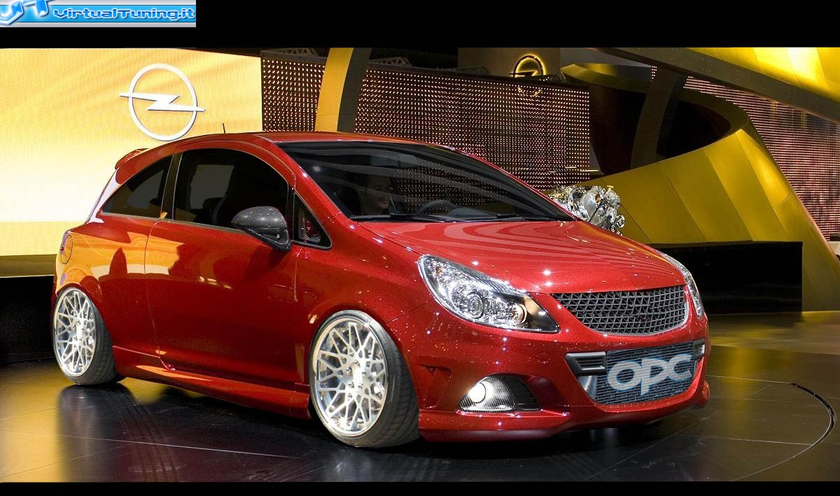 opel corsa opc by ste opc virtualtuning it. Black Bedroom Furniture Sets. Home Design Ideas
