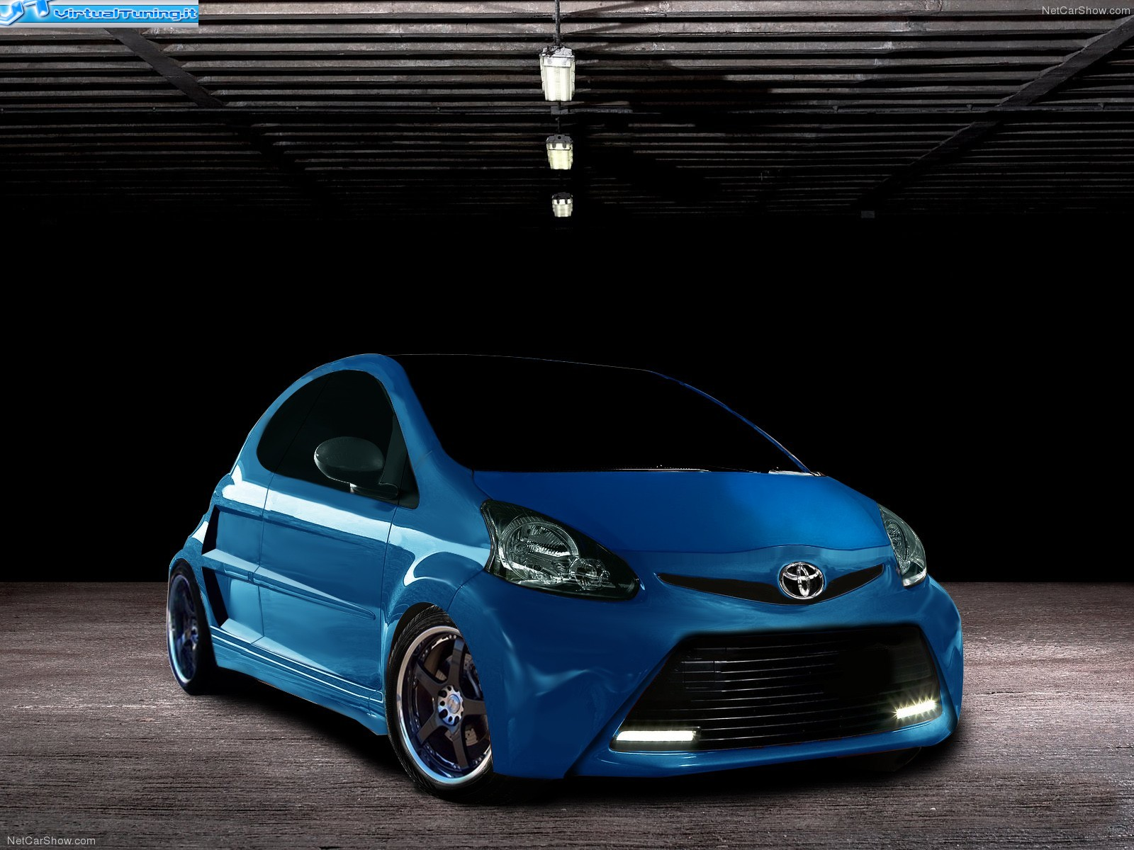 toyota aygo coup tuning by gipixcar virtualtuning it. Black Bedroom Furniture Sets. Home Design Ideas