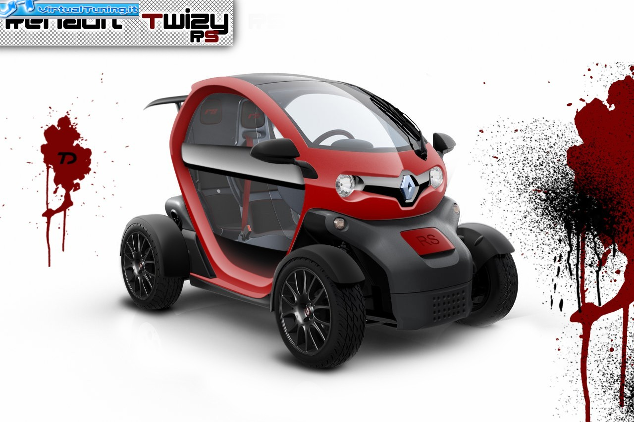 renault twizy rs by car passion virtualtuning it. Black Bedroom Furniture Sets. Home Design Ideas