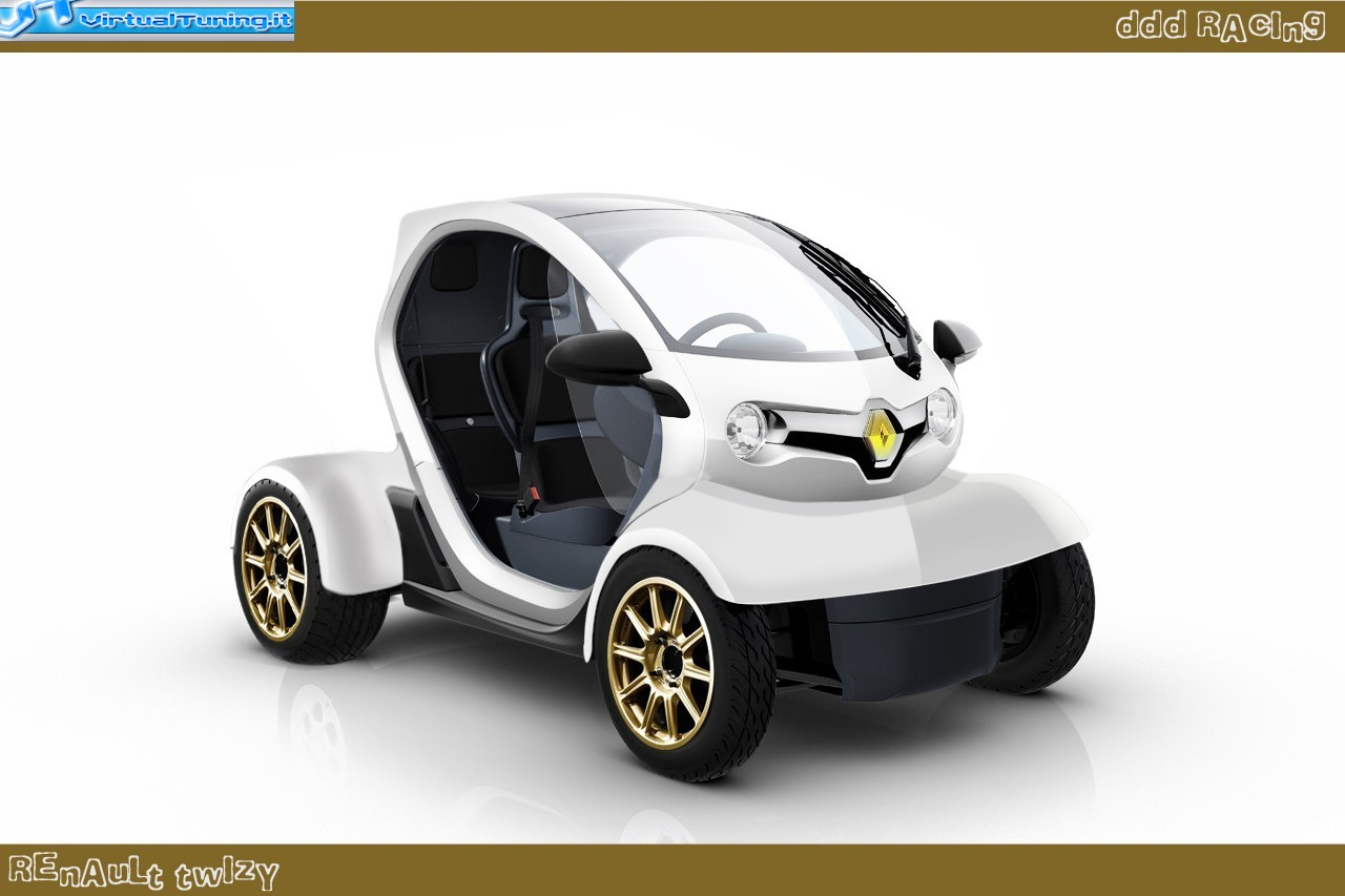 renault twizy by ddd racing virtualtuning it. Black Bedroom Furniture Sets. Home Design Ideas