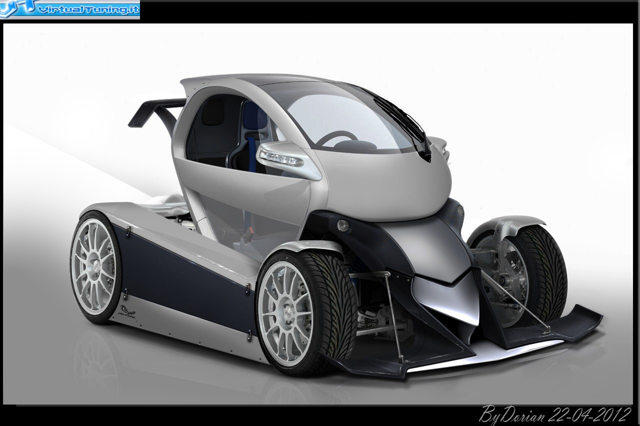 renault twizy by dorian virtualtuning it. Black Bedroom Furniture Sets. Home Design Ideas