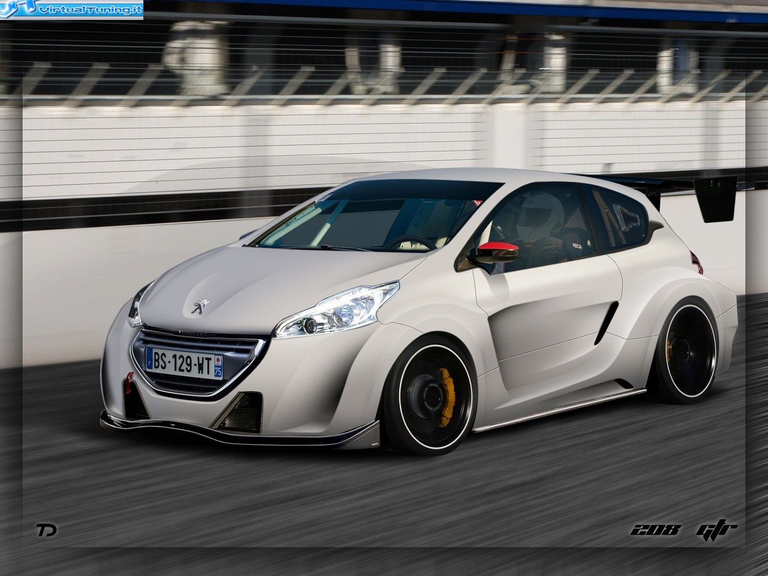 Peugeot 208 Gtr By Tts By Car Passion Virtualtuning