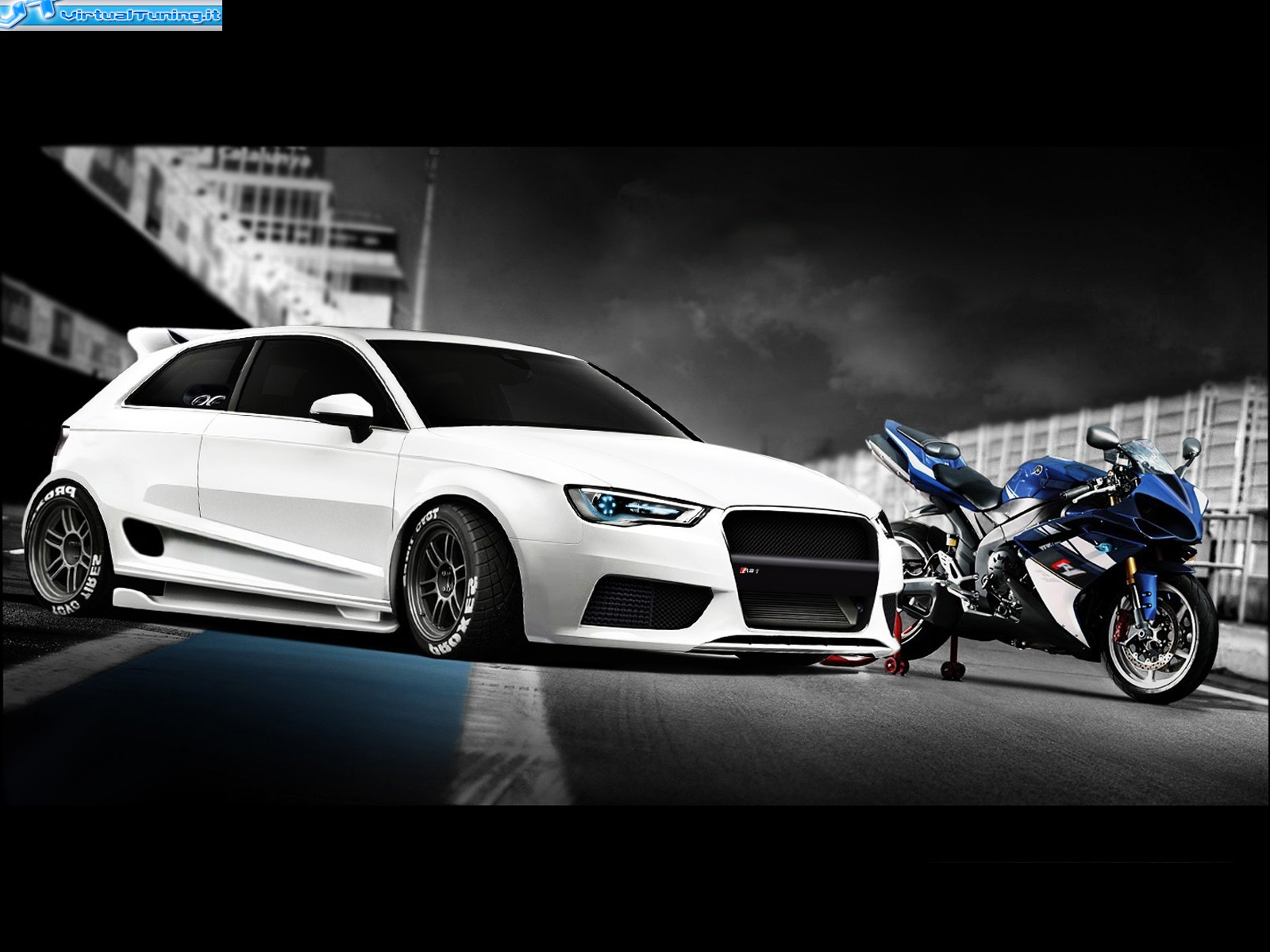 audi a3 by kipi tuning virtualtuning it. Black Bedroom Furniture Sets. Home Design Ideas