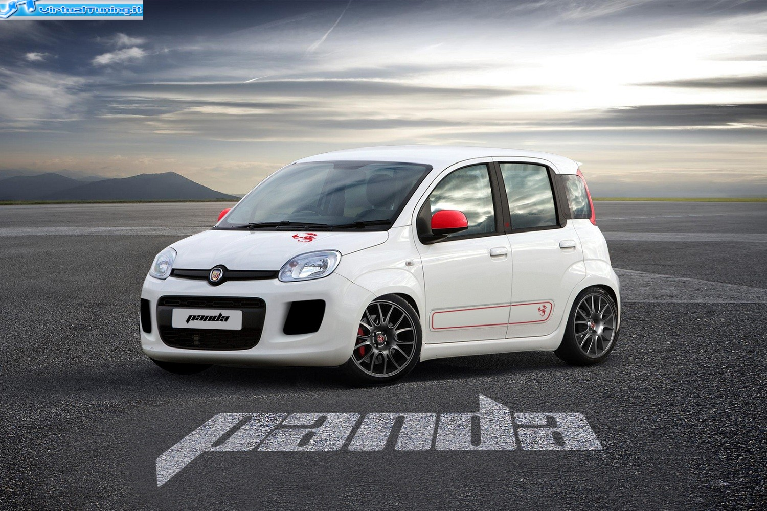 Fiat Panda Abarth By Car Passion Virtualtuning It
