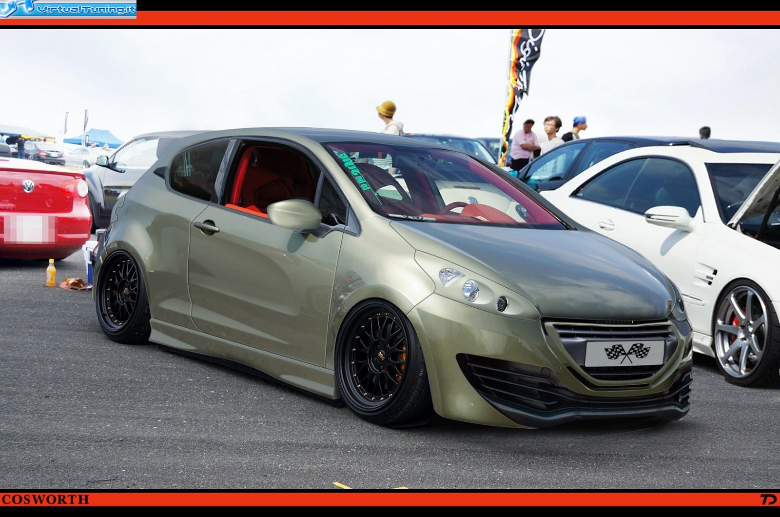 peugeot 208 cosworth rt208 by car passion. Black Bedroom Furniture Sets. Home Design Ideas