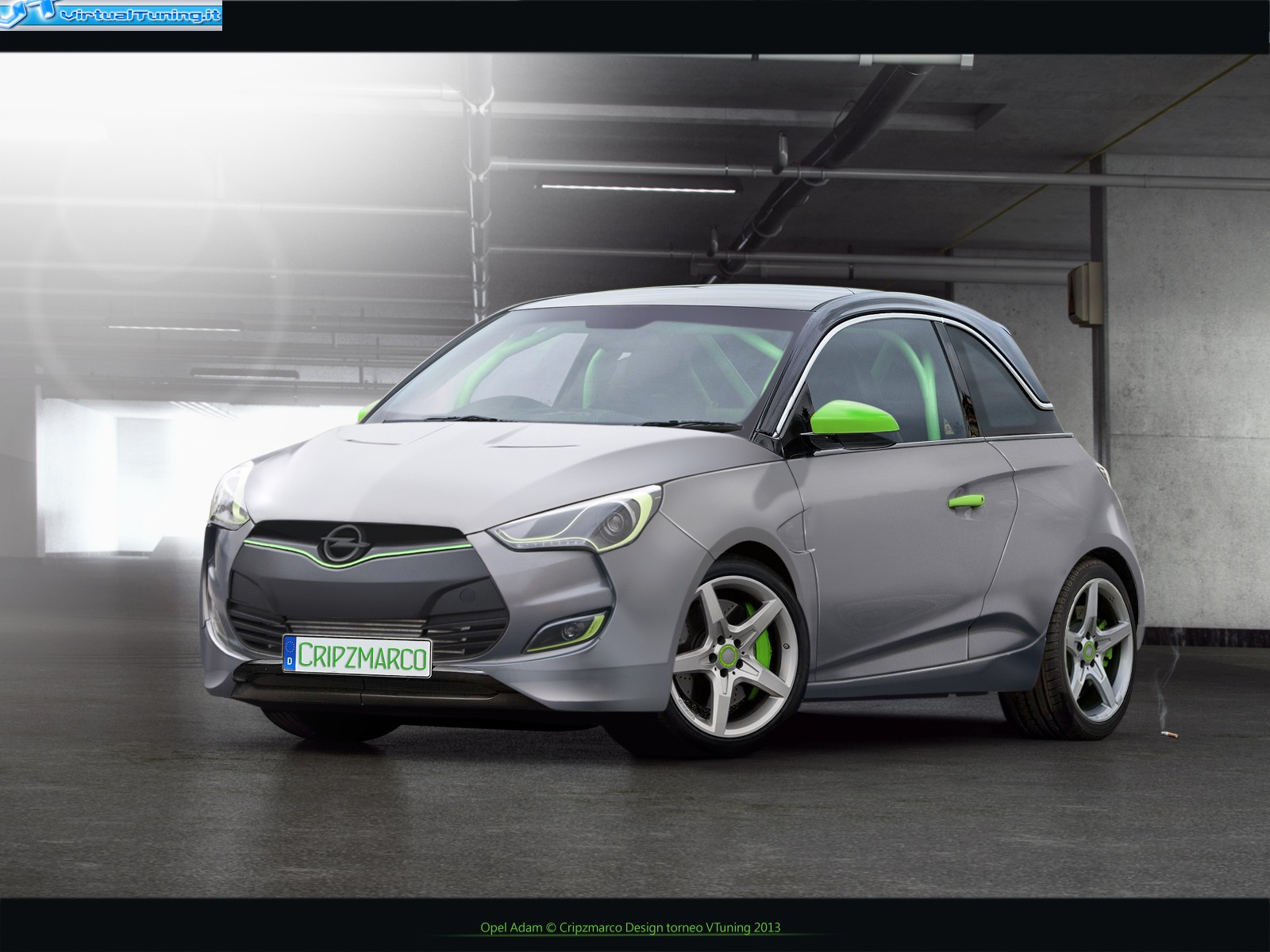 opel adam by cripzmarco virtualtuning it. Black Bedroom Furniture Sets. Home Design Ideas
