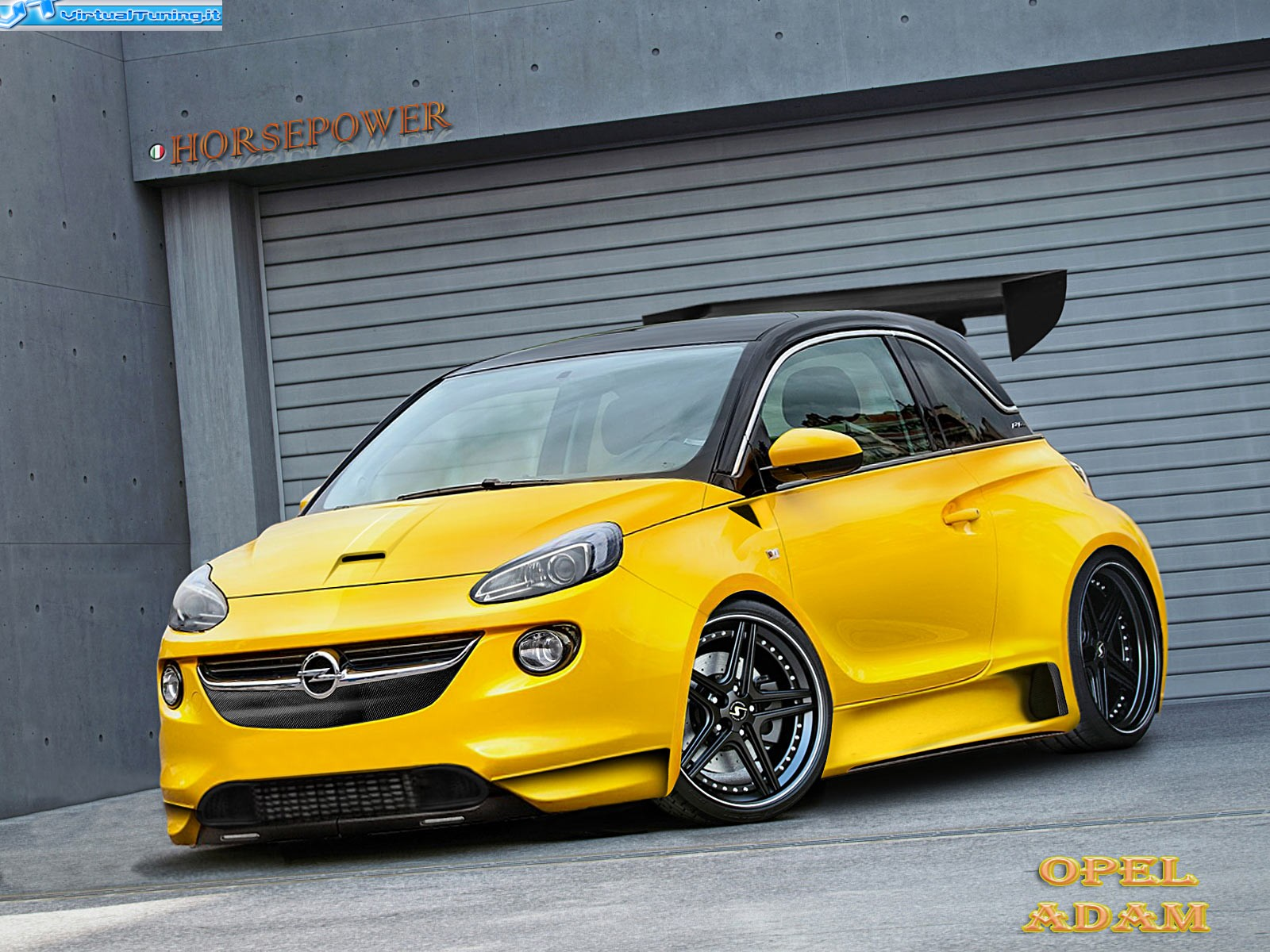 opel s stylish adam minicar could become a buick. Black Bedroom Furniture Sets. Home Design Ideas