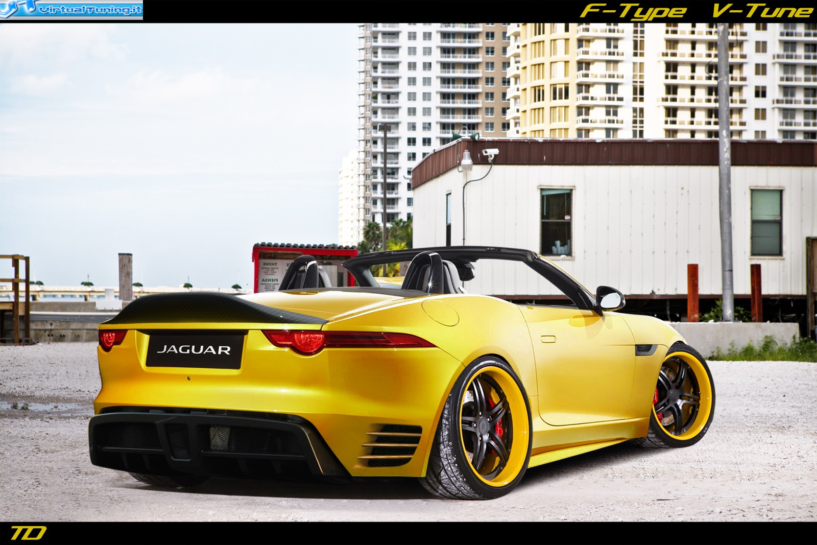 VirtualTuning JAGUAR F-Type V-Tune by