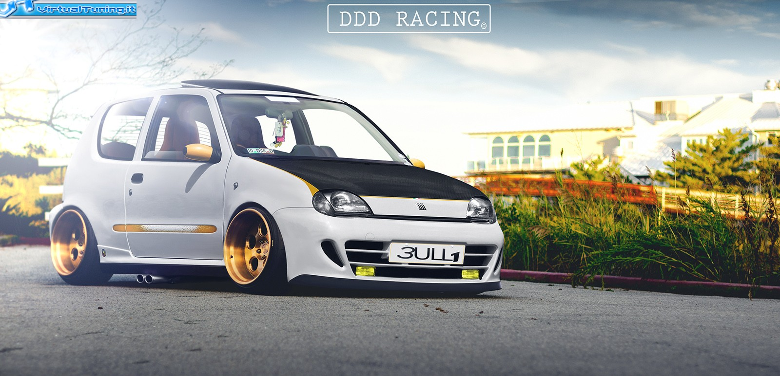 fiat seicento bully by ddd racing virtualtuning it. Black Bedroom Furniture Sets. Home Design Ideas