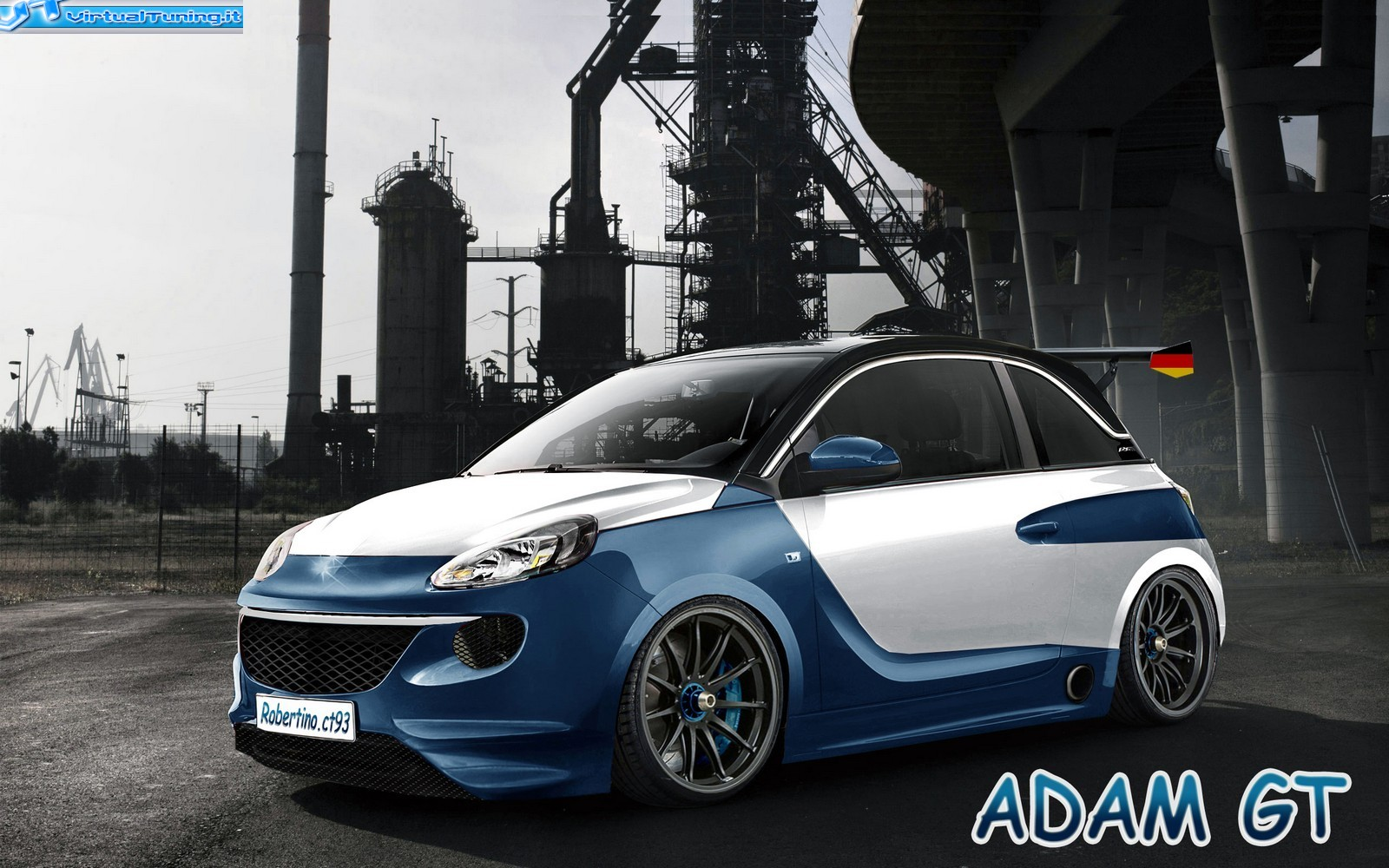 opel adam gt by virtualtuning it. Black Bedroom Furniture Sets. Home Design Ideas