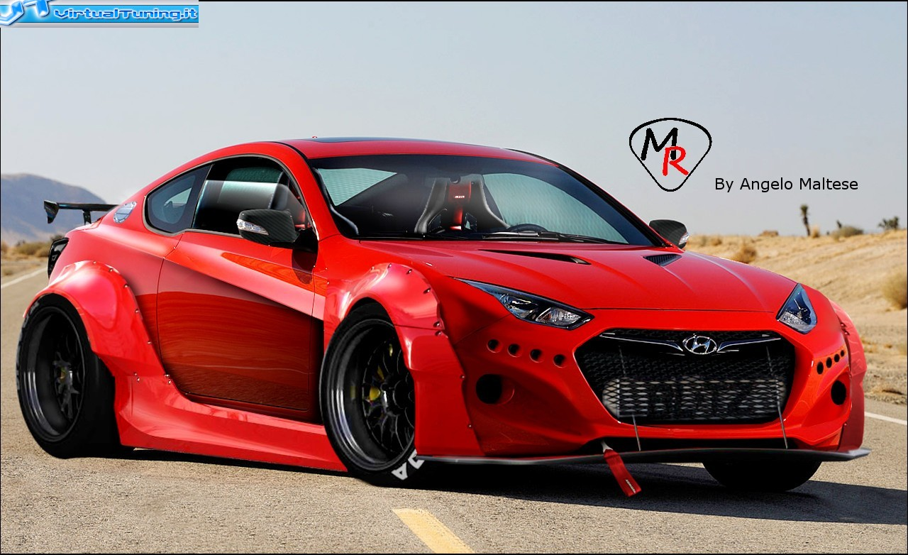 Hyundai Genesis Coupe at SEMA 2009 photo tuningnews net