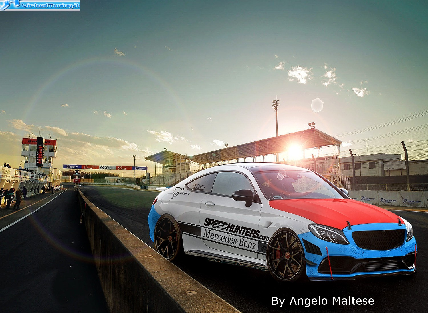 VirtualTuning MERCEDES  C63 AMG Coup� by malteseracing
