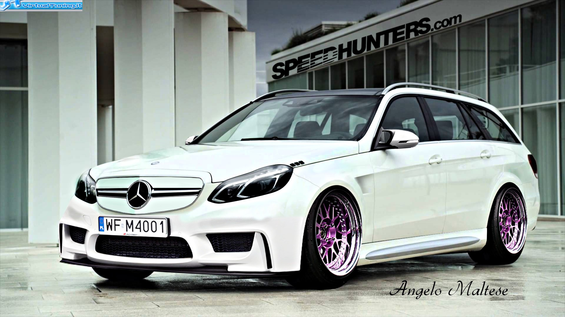 VirtualTuning MERCEDES E sw by