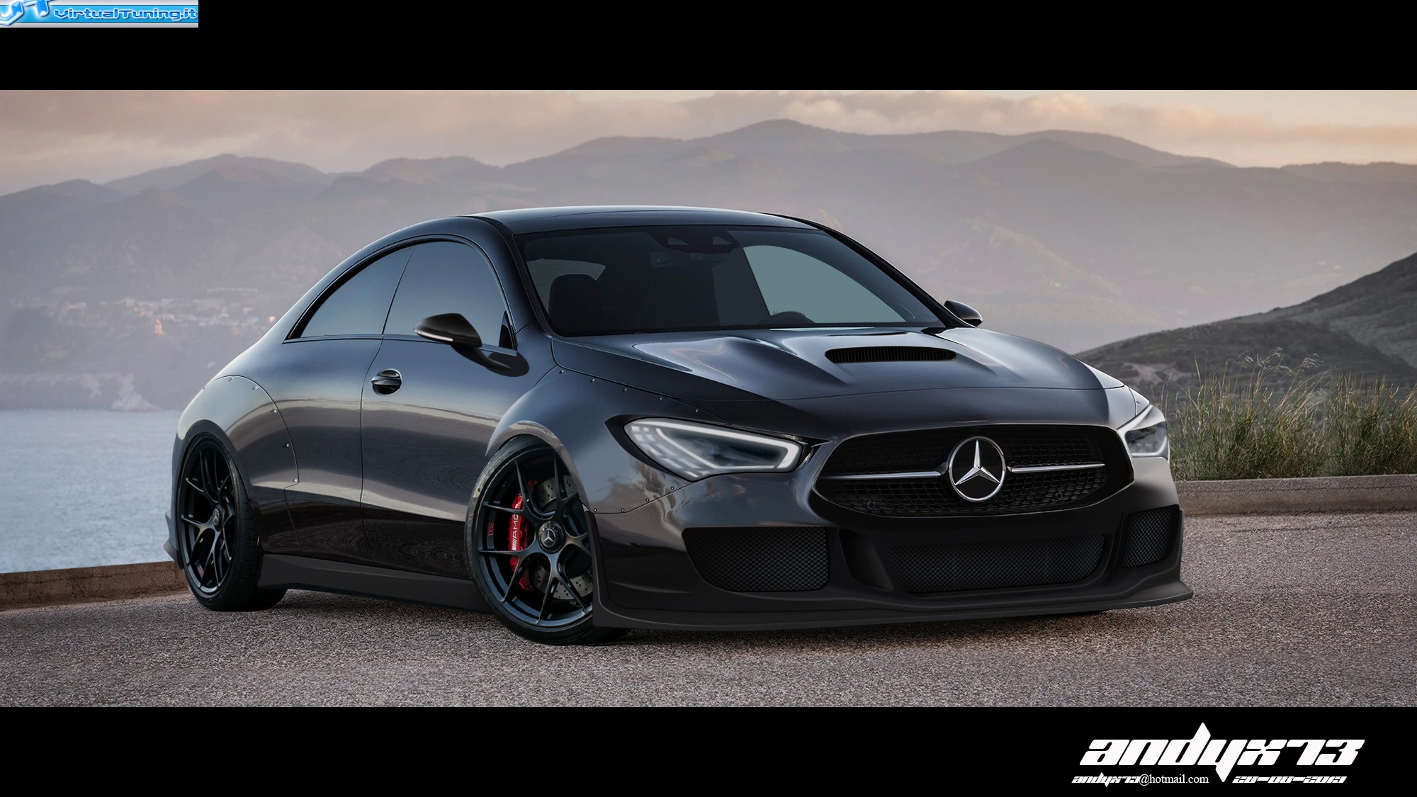 VirtualTuning MERCEDES CLA by andyx73